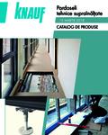 KnaufGips Catalog produse si preturi pardoseli tehnice suprainaltate martie 2018