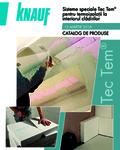 KnaufGips Catalog produse si preturi sisteme speciale Tec Term martie 2018