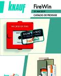 Knauf Catalog Sisteme speciale cu protectie la foc FireWin produse si preturi Mai 2019