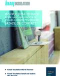 Knauf Insulation Instructiuni aplicare fatade de contact