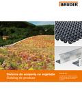 Bauder Catalog produse acoperis verde