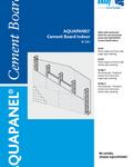 KnaufGips AQUAPANEL Placa de Ciment pentru Interior