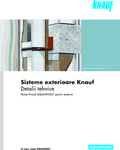 KnaufGips Detalii tehnice Sisteme AQUAPANEL de exterior