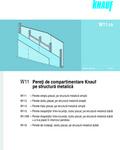 KnaufGips Pereţi de compartimentare pe structura metalica