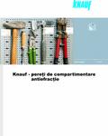 KnaufGips Sisteme de pereti antiefractie