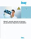 KnaufGips Sisteme de siguranta protectie la radiatii